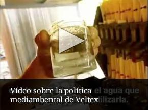 Vídeo sobre la política mediambental de Veltex